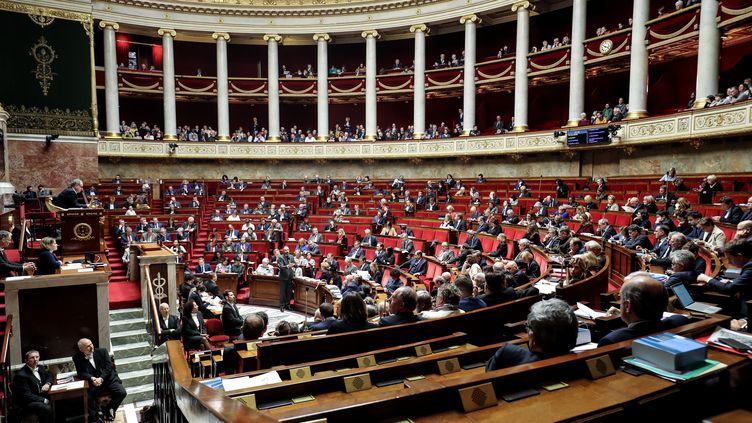 L'Assemblée nationale à Paris, le 25 février 2020. (LUDOVIC MARIN / AFP)