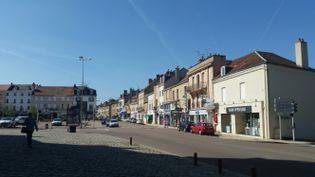 Le centre-ville du Creusot. (Mathilde Lemaire)