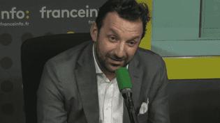 KarimFerchiou, le président-fondateur de la société VoituresNoires, sur franceinfo le14octobre 2016 (RADIO FRANCE / CAPTURE D'ÉCRAN)