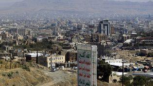La capitale yéménite, Sanaa, le 3 décembre 2017. (MOHAMMED HUWAIS / AFP)