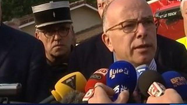 Incendie en Gironde : Bernard Cazeneuve annonce des renforts