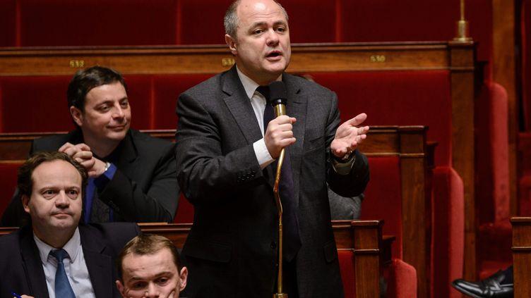 Bruno Le Roux, chef de file des députés PS, à l'Assemblée nationale, le 1er février 2013. ( MAXPPP)