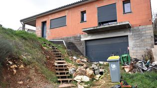 La maison du couple Jubillar à Cagnac-les-Mines (Tarn), le 26 décembre 2020. (MAXPPP)