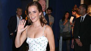 """Emma Watson à Paris pour l'avant-première de son dernier film, """"The Circle"""", de James Ponsoldt (21 juin 2017)  (David Silpa / UPI / MaxPPP)"""