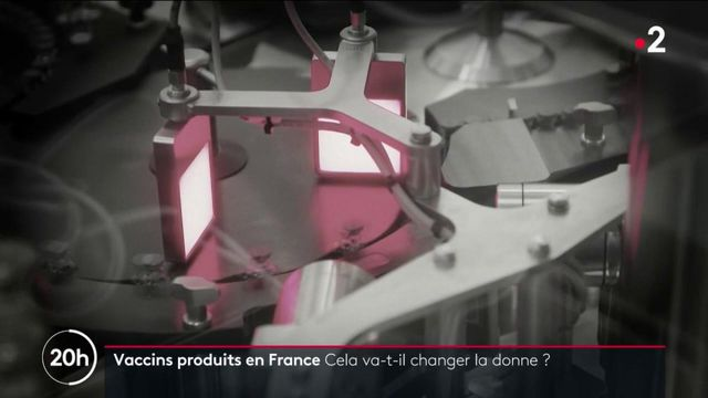 Covid-19 : des vaccins Pfizer/BioNtech produits en France