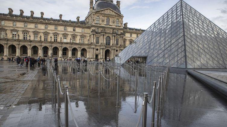 Le musée du Louvre à Paris. (ANTOINE WDOWCZYNSKI / HANS LUCAS)