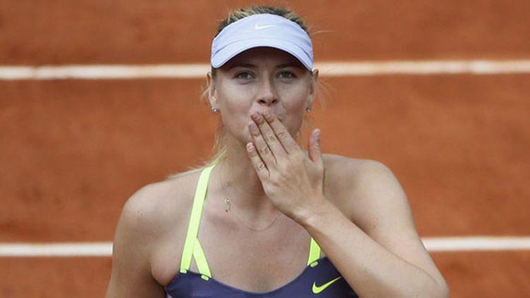La Russe Maria Sharapova, tenante du titre à Roland Garros