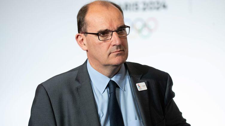 Jean Castex, le 14 juin 2018 à Paris, pour une cérémonie liée aux JO 2024. (MAXPPP)