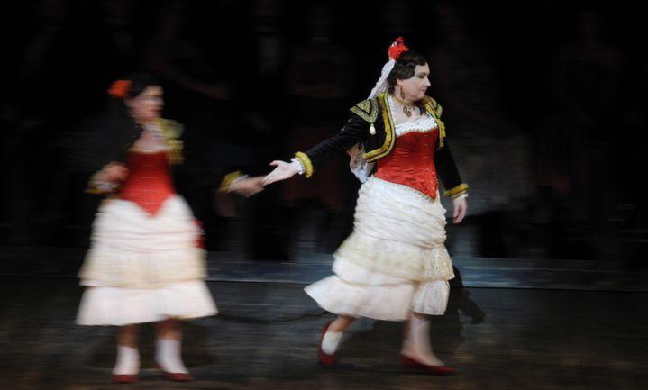 Michel Fau en Carmen  (Lorenzo Ciavarini Azzi/Culturebox)