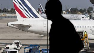 "Air France recrute de jeunes pilotes et relance sa filière ""cadets"". (MAXPPP)"