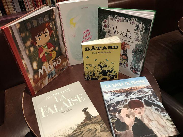 Les bandes dessinées en lice pour les Pépites 2017  (Culturebox)