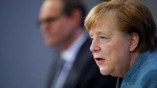 La chancelière allemande Angela Merkel (HANNIBAL HANSCHKE / REUTERS-POOL)