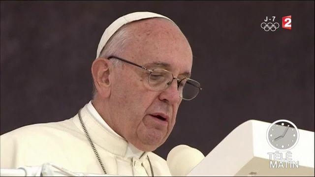 Le pape accueilli dans la liesse aux JMJ