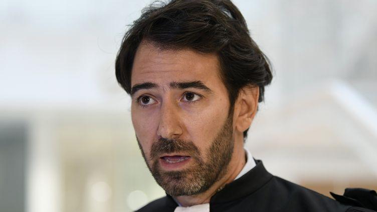 Antonin Lévy, avocat de françois Fillon. (BERTRAND GUAY / AFP)
