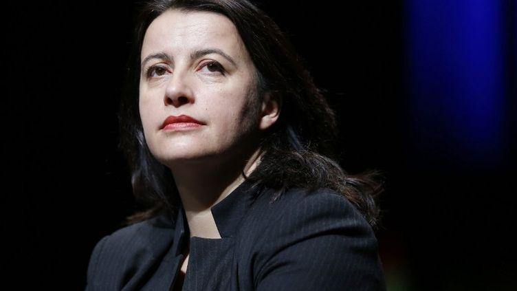Cécile Duflot, le 24 janvier 2014 à Cergy-Pontoise (Val d'Oise). (THOMAS SAMSON / AFP)