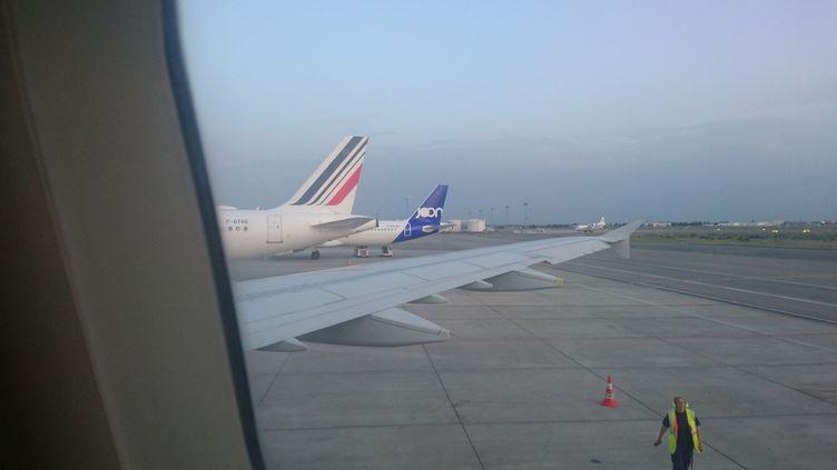 L'aéroport d'Orly (Val-de-Marne) a accueilli, mardi 31 mars, ses derniers vols commerciaux. Il se met en sommeil en raison de la chute du trafic aérien causé par la crise du coronavirus. (MATHIEU FERRI / FRANCE-BLEU OCCITANIE)