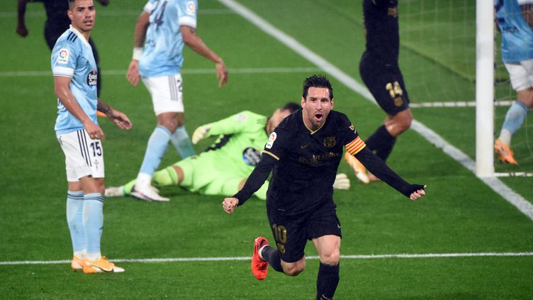 Lionel Messi a provoqué un contre son camp (MIGUEL RIOPA / AFP)
