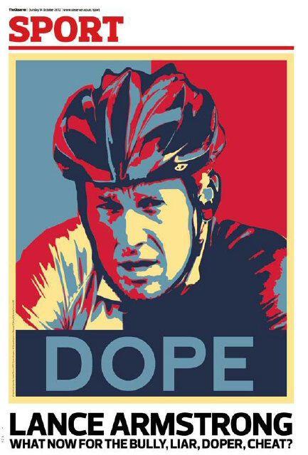 """La une du supplément """"sports"""" du """"Sunday Times"""" du 14 octobre 2012. (THE SUNDAY TIMES)"""