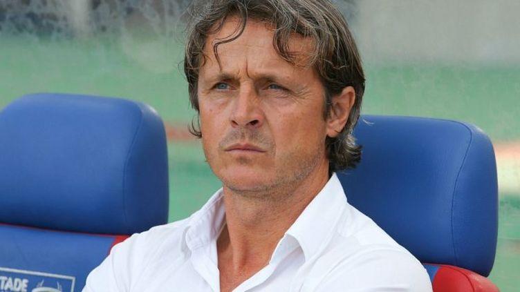Réginald Ray, nouvel entraîneur de Valenciennes.