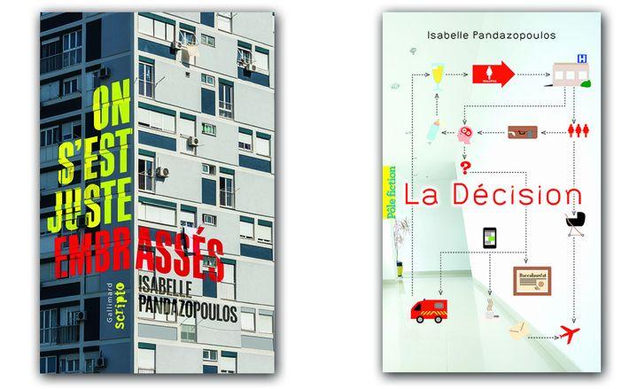 Couvertures des livres d'Isabelle Pandazopoulos