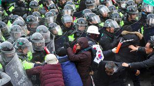 Corée du sud. (JUNG YEON-JE / AFP)