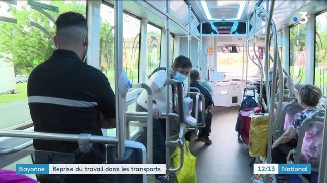 Bayonne : les chauffeurs de bus reprennent le travail