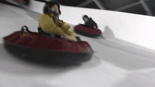 Sports d'hiver : une station de ski éphémère aux portes de Paris (France 3)