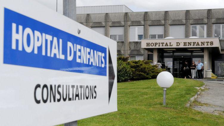 Hôpital d'enfants, CHRU de Nancy, le 29 décembre 2017. (MAXPPP)