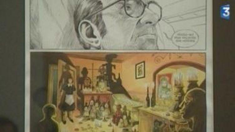 Amiens toute en bandes dessinées  (Culturebox)