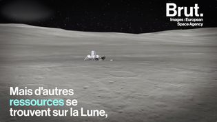 VIDEO. La Lune, ce satellite naturel de plus en plus convoité pour ses ressources (BRUT)