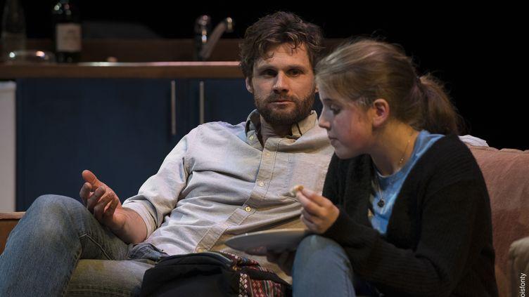 Alexis Michalik et Violaine Guillon (François Fonty)