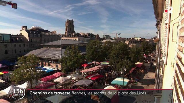 Rennes : à la découverte d'un lieu chargé d'Histoire, la Place des Lices