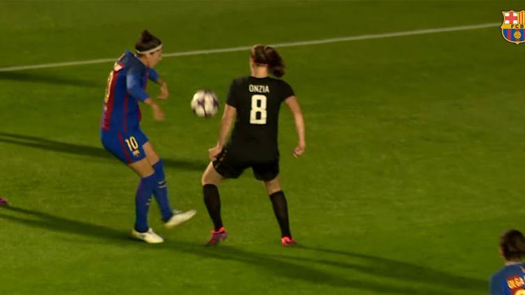 L'attaquante du FC Barcelone, Jennifer Hermoso