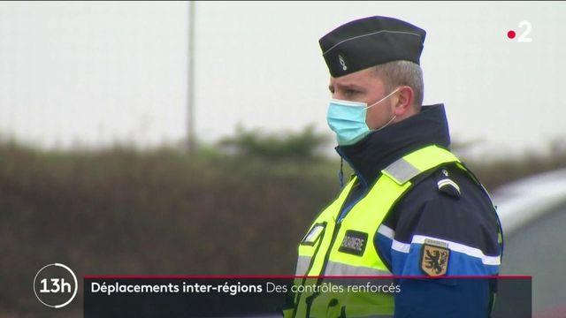 Confinement partiel : les forces de l'ordre surveillent les déplacements inter-régions