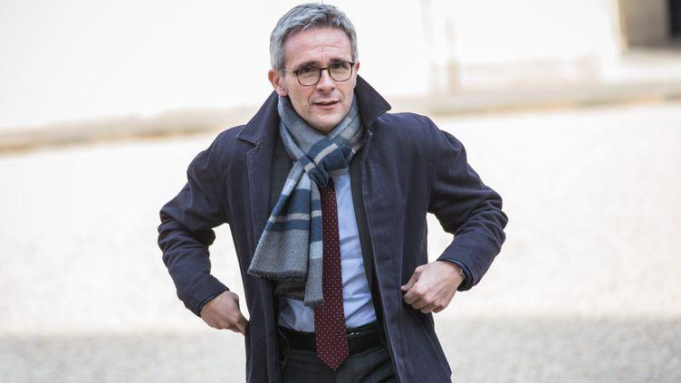 Stéphane Troussel, le président socialiste du conseil départemental de la Seine-Saint-Denis, alerte sur la situation des plus précaires durant l'épidémie de coronavirus. (AURELIEN MORISSARD / MAXPPP)