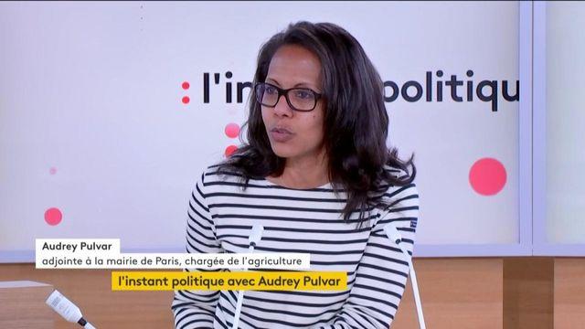 """""""J'aimerais beaucoup qu'Anne Hidalgo soit candidate à la présidentielle en 2022"""", déclare Audrey Pulvar, adjointe à la maire de Paris"""