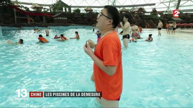 Chine : les piscines de la démesure