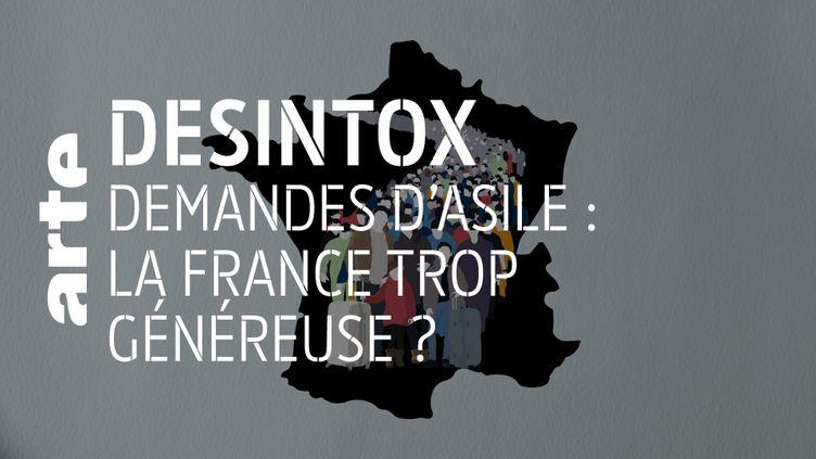 Désintox. Non, la France n'est pas la plus généreuse envers les demandeurs d'asile (ARTE/LIBÉRATION/2P2L)