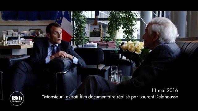 Quand le ministre Macron discutait avec Jean d'Ormesson de son ambition