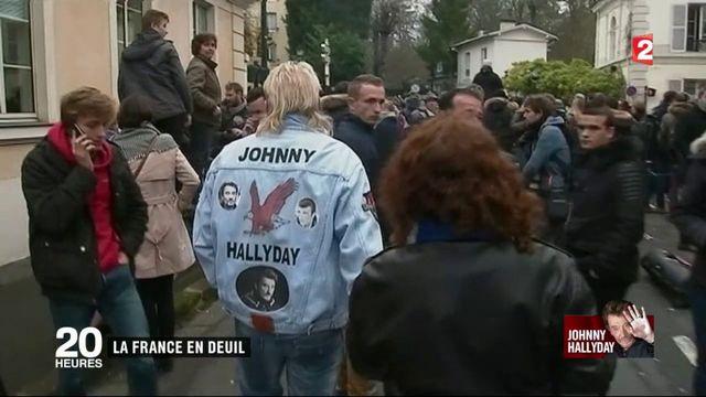 Johnny Hallyday : la France est en deuil