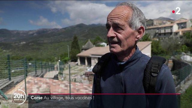 Corse : à Cozzano, 90 % de vaccinés