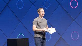 Mark Zuckerberg lors d'une conférence à San José (Californie), le 18 avril 2017. (ANDREJ SOKOLOW / DPA)