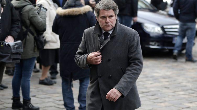 Franck Louvrier, l'ancien conseiller de NicolasSarkozy, le 6 janvier 2015 à Paris. (  MAXPPP)