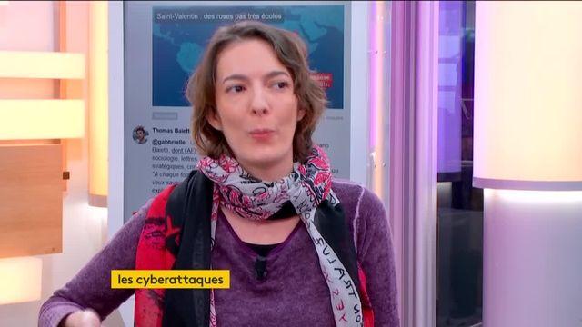 """En Marche ! hacké, Emmanuel Macron inquiet. Amaelle Guiton, journaliste à Libération, spécialiste de la cyber sécurité, était l'invitée de Stephane Dépinoy dans """":L'éco"""" mardi 14 février. Après la campagne américaine, les cyberattaques pourraient-elles bouleverser le scrutin présidentiel français ?"""