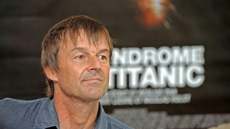 Nicoals Hulot, le 3 septembre 2009 dans les locaux du journal Sud-Ouest à Bordeaux. (AFP - Jean-Pierre Muller)