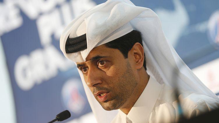 Le président du PSG Nasser Al-Khelaifi