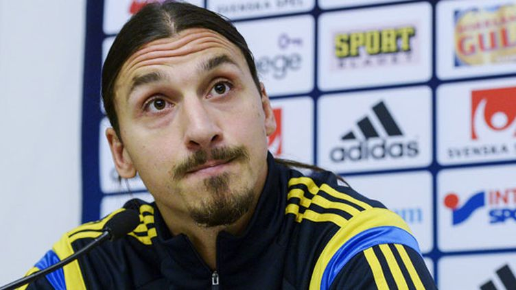 L'attaquant suédois Zlatan Ibrahimovic