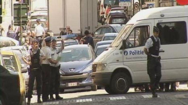 Tuerie dans un tribunal à Bruxelles, le 3/06/2010 (EVN)