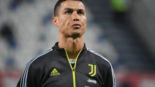 Cristiano Ronaldo (ici lors de la finale de la Coupe d'Italie, le 19 mai 2021) a joué pour la Juventus Turin durant 3 saisons. (ALBERTO LINGRIA / POOL / AFP)