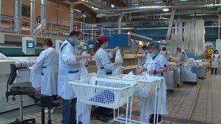 La blanchisserie emploi 150 personnes. (FRANCE 3)